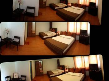 Amazon Bungalow & Cottages Pangandaran - Cozy Family Room Regular Plan