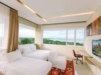 Mahogany Hotel Bali - Family Room with Breakfast Bay View  NRF Minimum Stay 3 Night Saty 48%