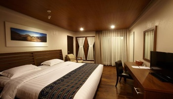 Jiwa Jawa Resort Bromo Probolinggo - Deluxe Double Room Regular Plan