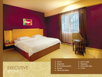 Hotel Borneo Pontianak - Executive Double Room Only  Regular Plan