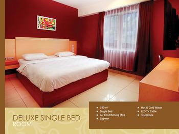 Hotel Borneo Pontianak - Deluxe Double Room Only  Regular Plan