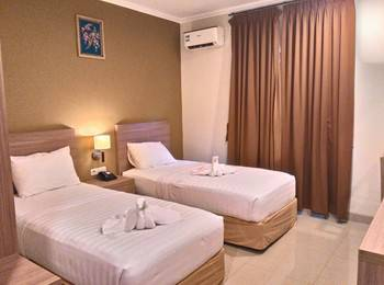 Sun Hotel Pangkalpinang - Deluxe Twin Room Regular Plan