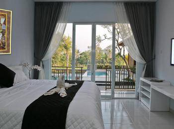 Puri Suksma Ubud Bali - Deluxe Double Room With Pool View Last Minute 45%