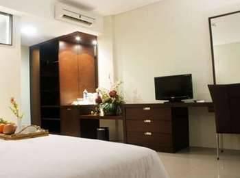 Bamboo Inn Hotel & Cafe Jakarta - Kamar Deluxe Double Bed Regular Plan