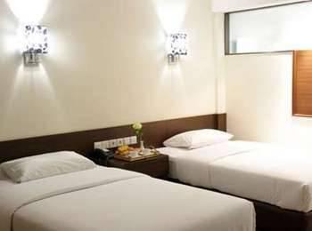 Bamboo Inn Hotel & Cafe Jakarta - Kamar Deluxe Twin Bed  Regular Plan