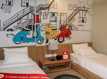 NIDA Rooms Cicendo Trade Center Bandung - Double Room Double Occupancy Special Promo