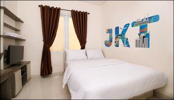 Sky Residence Radio Dalam 1 Jakarta Jakarta - Standard Double Room Only Regular Plan