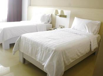 Hotel Sandjaja Palembang - Deluxe Twin Room Regular Plan