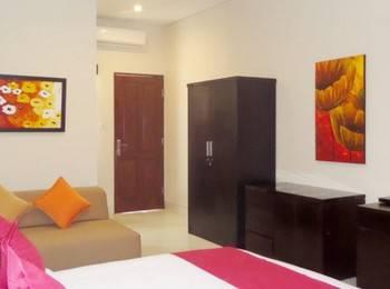 Bali Krisna Villa Seminyak Bali - Deluxe Double Room Only Promotion