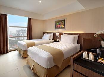 Marc Hotel Passer Baroe at Pasar Baru Mansion Jakarta - Deluxe Twin Room Only Minimum stay 3 nights
