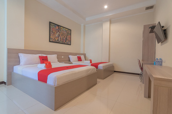 RedDoorz @ Sersan Bajuri Atas Bandung - RedDoorz Twin Room with Breakfast Regular Plan