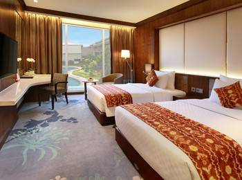 Swiss-Belhotel  Banjarmasin - Deluxe Twin Pool View Regular Plan