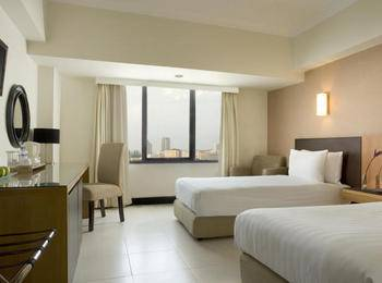 Santika  Pandegiling - Deluxe Executive Room Twin Offer 2020 Regular Plan