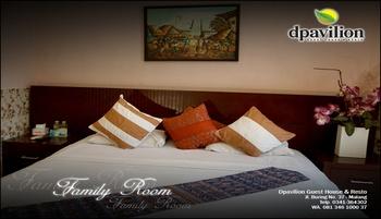Dpavilion Guest House & Resto Malang Malang - Family Room Regular Plan