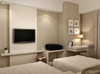 Platinum Adisucipto Hotel & Conference Center Yogyakarta Jogja - Deluxe Twin Room - Room Only basic deal
