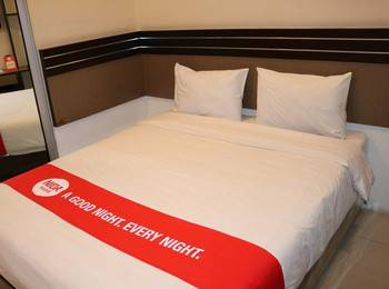 NIDA Rooms Railway Median Kantor Post Medan - Double Room Double Occupancy Special Promo