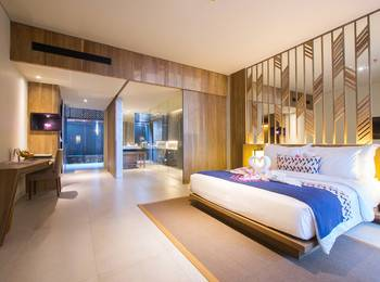 Katamaran Resort Lombok - Premier King Room Best Deal - 25%!!