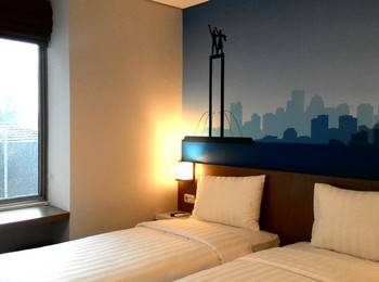Everyday Smart Hotel Mayestik - Smart Twin Room Only Regular Plan
