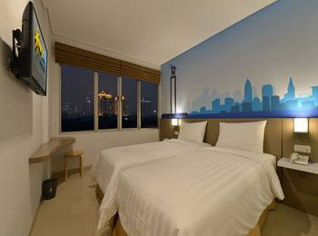 Everyday Smart Hotel Mayestik - Smart Twin Room Regular Plan