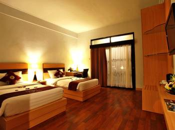 Puri Saron Hotel Seminyak - Deluxe Room with Breakfast Special deal 52% discount