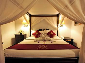 Puri Saron Hotel Seminyak - Deluxe Chalet Room with Breakfast Special deal 52% discount