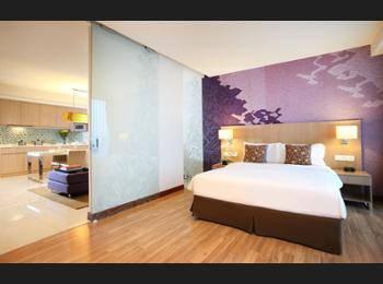 Citadines Rasuna Jakarta - Apartemen Eksekutif, 1 Tempat Tidur Queen Hemat 40%
