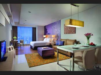 Citadines Rasuna Jakarta - Studio Premier, 1 Tempat Tidur Queen Hemat 40%