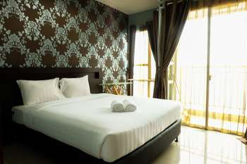 1 BR Thamrin Residence City View By Travelio Jakarta - City Apartment, 1 Bedroom Regular Plan