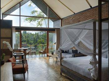 Chapung SeBali Resort and Spa Bali - Deluxe Suite, 1 King Bed, Balcony, Valley View Hemat 25%