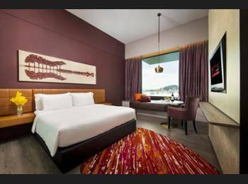 Resorts World Sentosa - Hard Rock Hotel Resorts World Sentosa - Hard Rock Hotel - Deluxe Room (Double or Twin with Pool View) Regular Plan