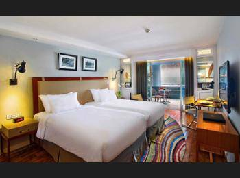 The Kuta Beach Heritage Hotel Bali - Deluxe Room with 0.6 m Shared Plunge Pool Regular Plan