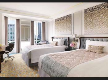 InterContinental Singapore - Deluxe Room, 2 Double Beds Regular Plan