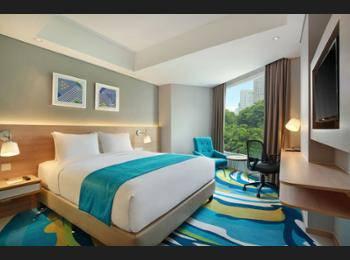 Holiday Inn Express Jakarta Wahid Hasyim Jakarta - Kamar, 1 Tempat Tidur Queen, non-smoking Regular Plan