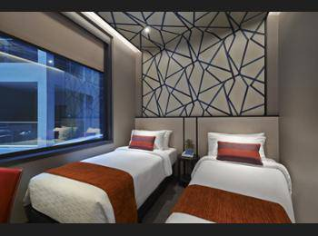 Hotel Boss Singapore - Superior Twin Room Regular Plan