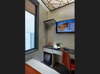 Hotel Boss Singapore - Superior Twin Room, City View Regular Plan