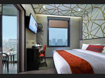 Hotel Boss Singapore - Superior Double Room, Balcony Regular Plan