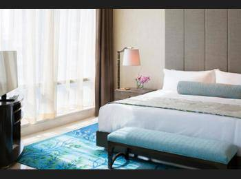 Raffles Hotel Jakarta - Raffles, Room, 1 King Bed, City View Regular Plan