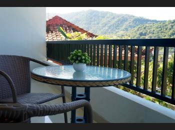 Villa Mataano Lombok - Kamar Twin Deluks, Beberapa Tempat Tidur, balkon, pemandangan gunung Penawaran kilat: hemat 25%