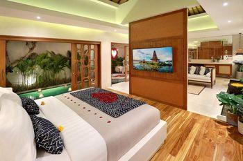 Asvara Villa Ubud Bali - 1 Bedroom Villa with Private Pool & Jacuzzi - Room Only Promo Stay HEPI