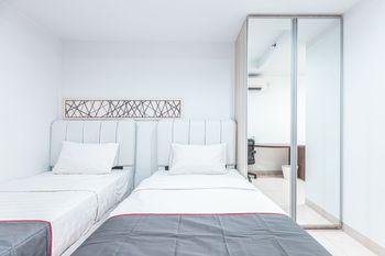Collection O 23 Azalea Suites Bekasi - Deluxe Twin Room Regular Plan