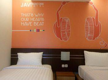 JAV Front One Hotel Lahat Lahat - Deluxe Room Regular Plan