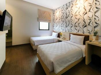 Hotel 88 Mangga Besar 62 - Superior Twin Room Regular Plan