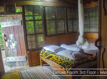 Karang Aji Beach Villa Sukabumi - Deluxe Room Regular Plan