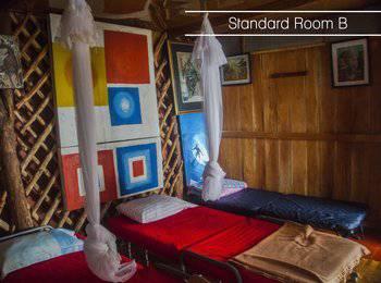 Karang Aji Beach Villa Sukabumi - Kamar Standard Regular Plan