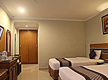 Cakra Kembang Hotel Yogyakarta - Kamar Deluxe Twin Regular Plan