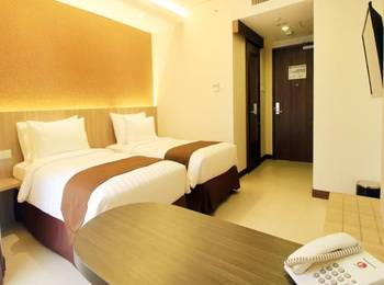 Teraskita Hotel Jakarta Managed by Dafam - Executive Twin Room Only Regular Plan