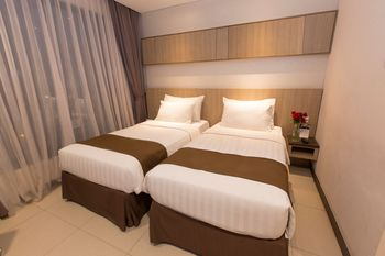 Teraskita Hotel Jakarta Managed by Dafam Jakarta - Executive Twin Room With Breakfast Regular Plan