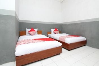 OYO 451 Divka Residence Syariah Bandar Lampung - Deluxe Twin Room Regular Plan