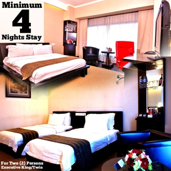 Manhattan Hotel Jakarta - Minimum 4 Nights Stay at Executive King or Twin Regular Plan