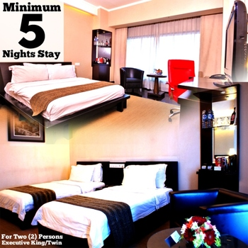 Manhattan Hotel Jakarta - Minimum 5 Nights Stay at Executive King or Twin  Regular Plan